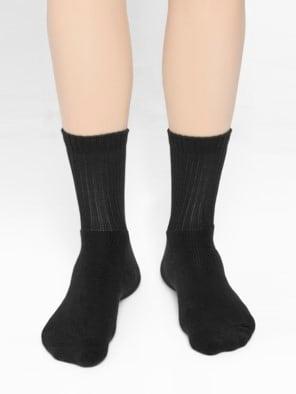 Black Men Crew Socks