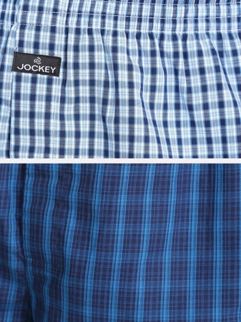 Dark Assorted Checks Boxer Shorts Pack of 2