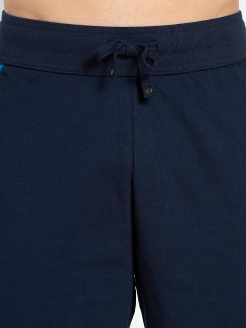 Navy & Neon Blue Active Shorts
