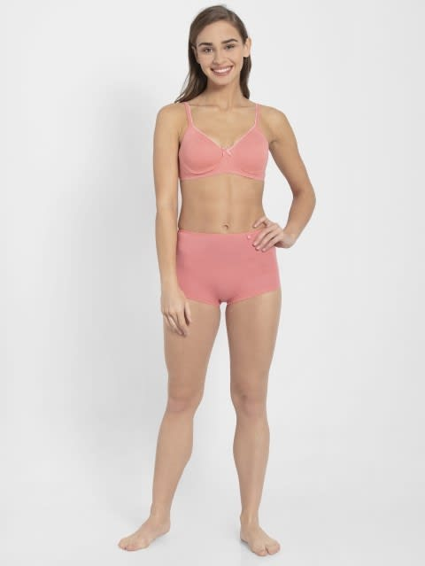 Peach Blossom Seamless Shaper Bra