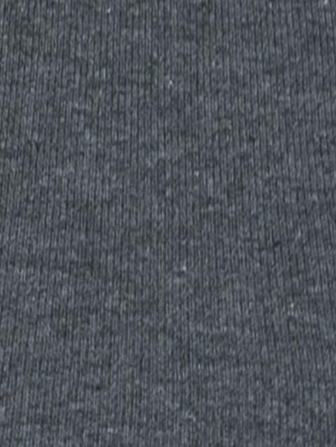 Charcoal Melange Square Neck Vest