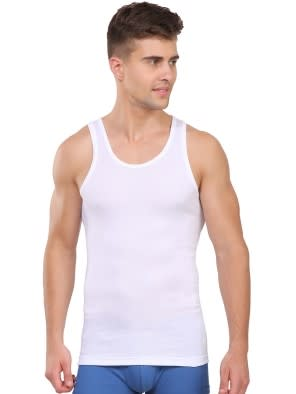 White Ultra Soft Vest