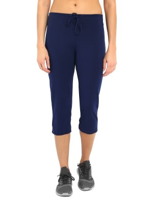 Imperial Blue Capri Pants