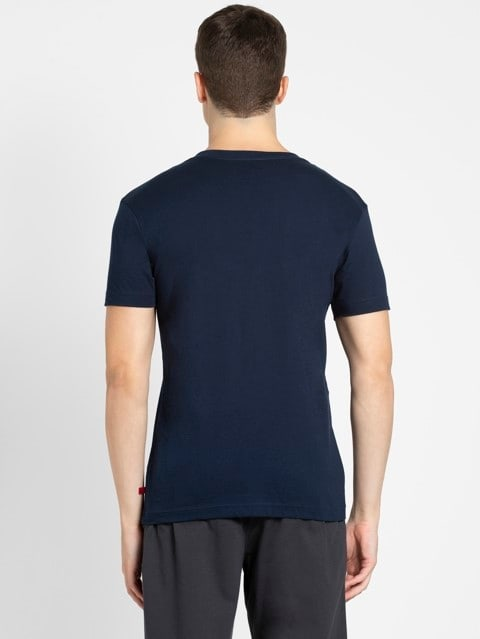 Navy V-Neck T-shirt