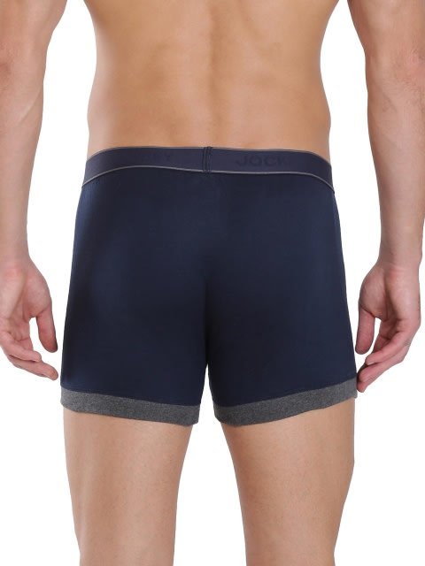 Navy & Charcoal Melange Boxer Brief