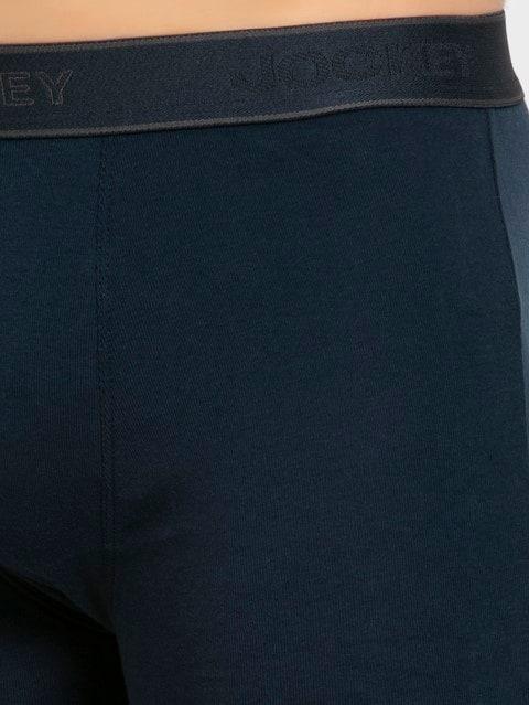 Navy & Charcoal Melange Boxer Brief