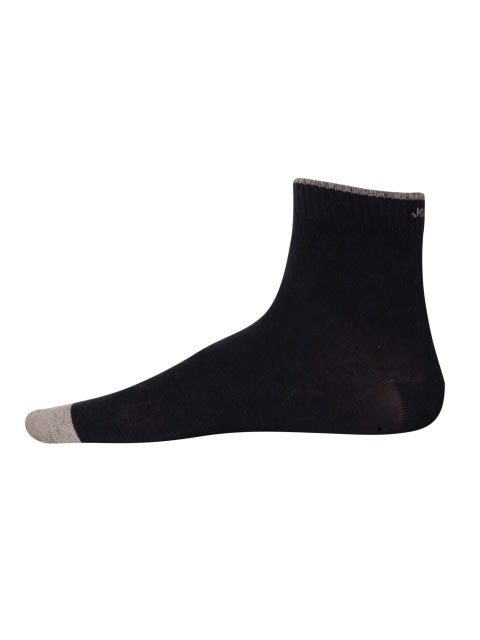 Navy Melange Men Ankle Socks