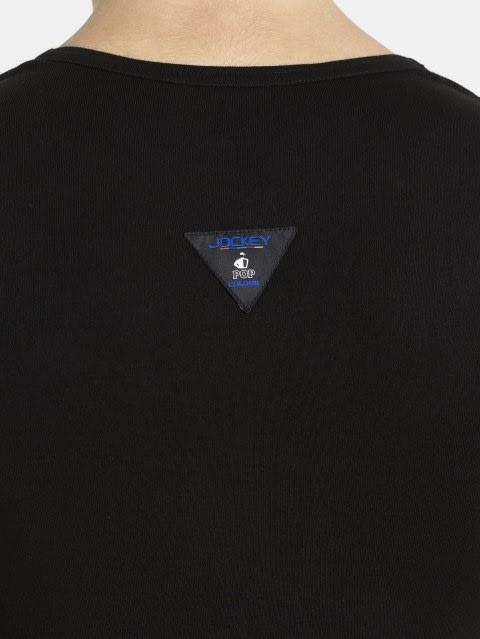 Black & Neon Blue Vest