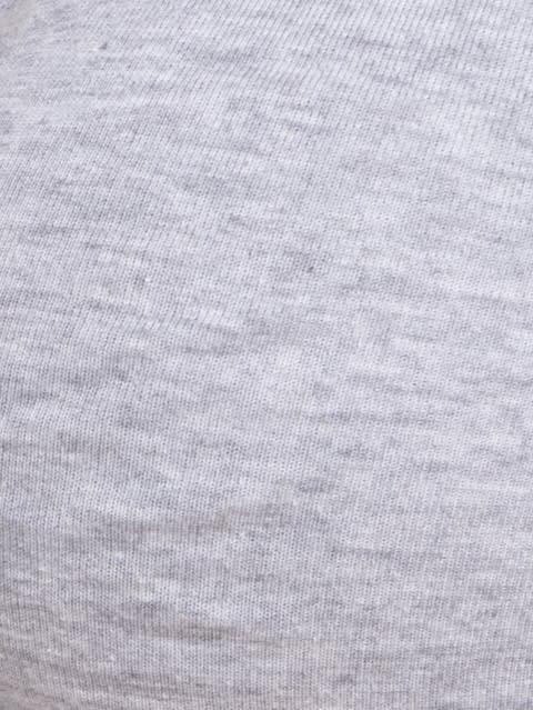 Light Grey Melange Moulded Underwire Bra