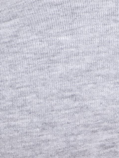 Light Grey Melange Soft Cup Bra