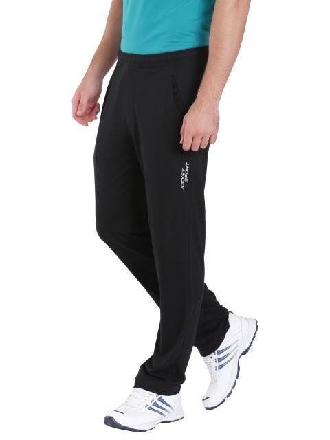 Black Slim Fit Track Pant