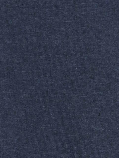 Ink Blue Melange Zip Thru Hoodie