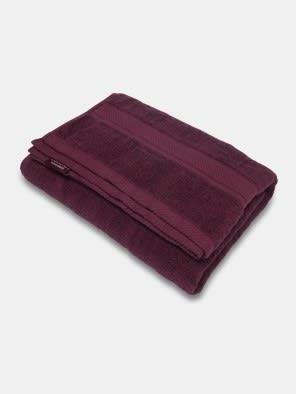 Burgundy Bath Towel