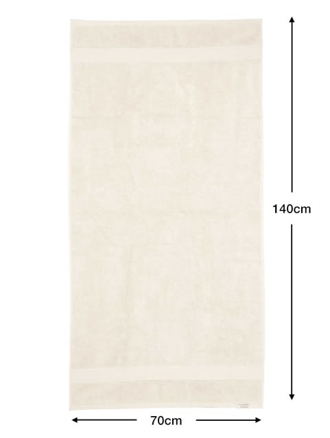 Pearl White Bath Towel