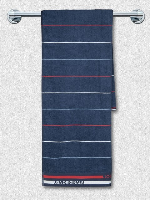 Ink Blue Grindle Bath Towel