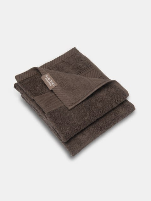 Chocolate Hand Towel Pack of 2