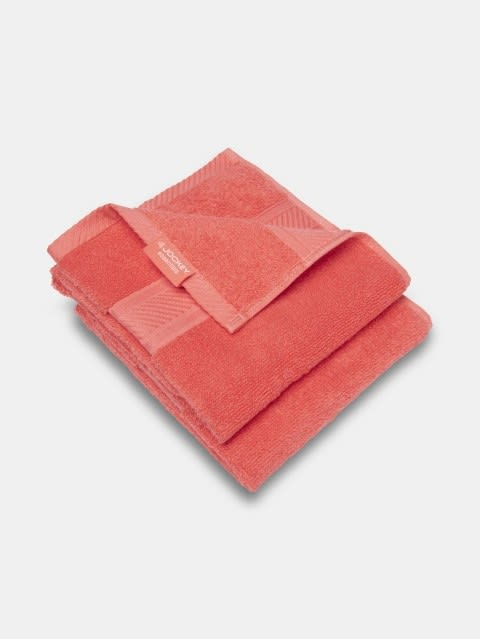 Coral Hand Towel Pack of 2
