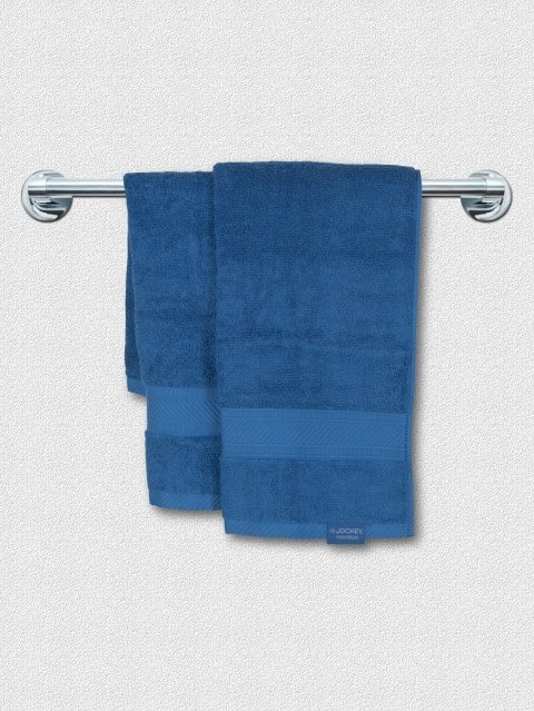 Mid Blue Hand Towel Pack of 2