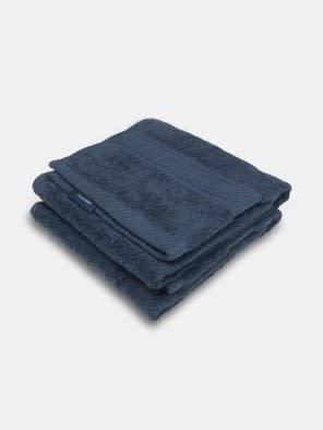 Navy Hand Towel Pack of 2