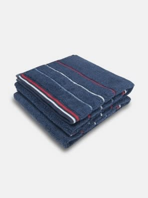 Ink Blue Grindle Hand Towel Pack of 2
