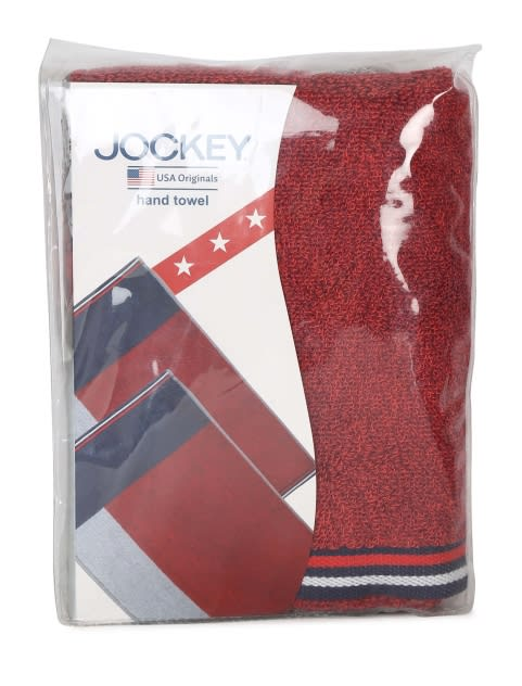 Red Grindle Hand Towel Pack of 2