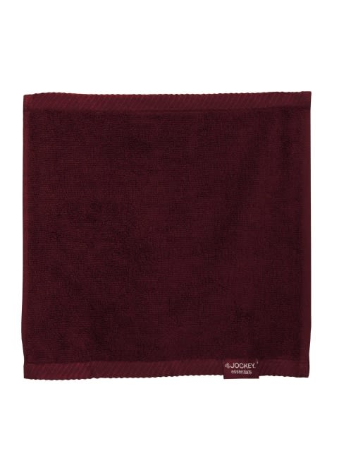 Burgundy Face Towel Pack of 3