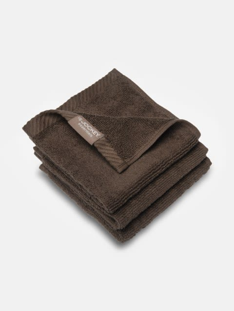 Chocolate Face Towel Pack of 3