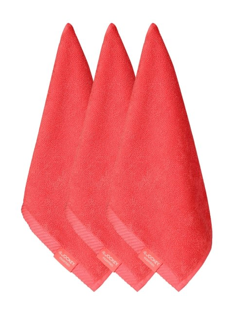 Coral Face Towel Pack of 3
