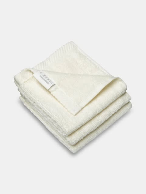 Pearl White Face Towel Pack of 3