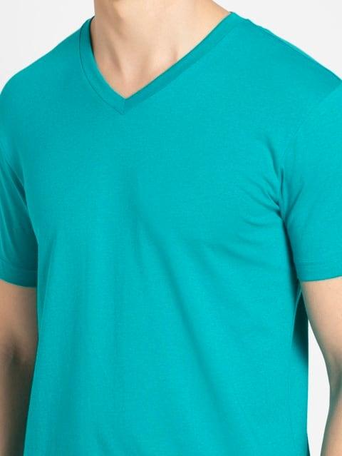 Deep Atlantis V-Neck T-shirt