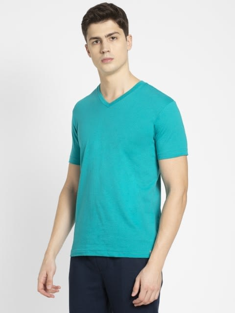 Deep Atlantis V-Neck T-shirt