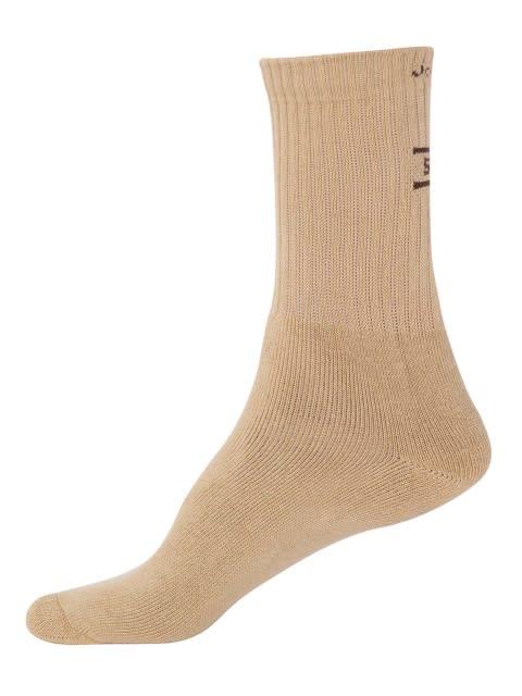 Khaki Men Crew Socks
