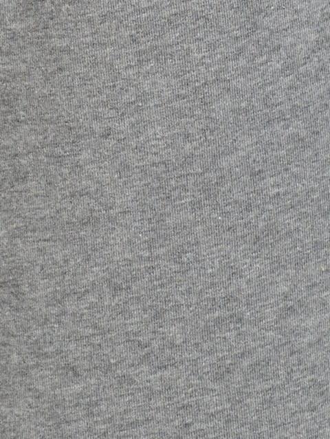 Grey Melange & Navy Knit Sport Shorts