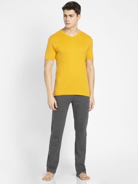 Burnt Gold V-Neck T-shirt