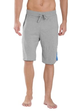 Grey Melange & Charcoal Active Shorts