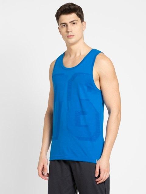Neon Blue Tank Top