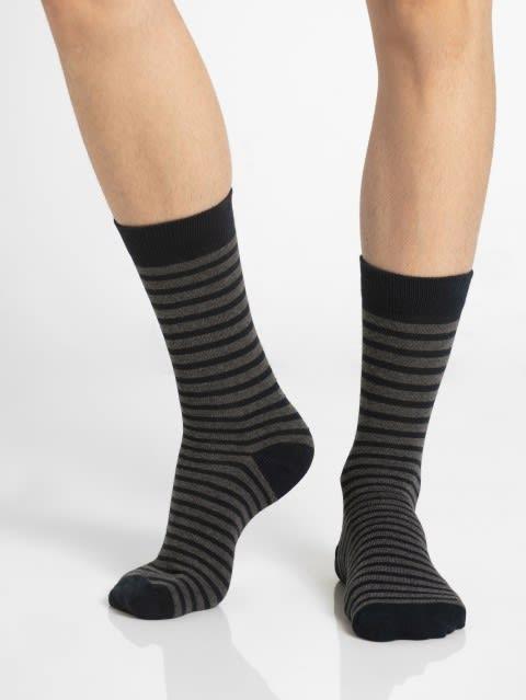 Navy Crew Socks