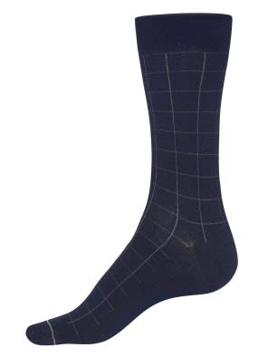 Navy Men Formal Socks
