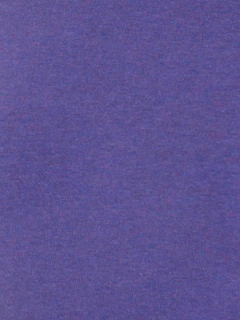 Cyber Grape Melange Round Neck T-Shirt