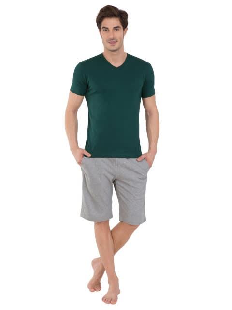 Eden Green V-Neck T-shirt