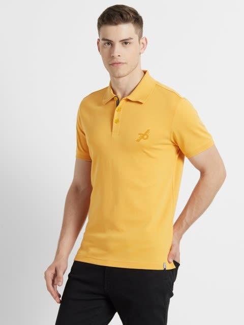 Burnt Gold Sport Polo T-Shirt