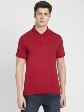 Shanghai Red Sport Polo T-Shirt