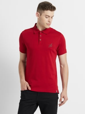 Shanghai Red Sport Polo T-Shirt