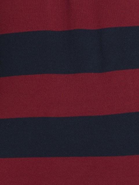 Navy & Deep Red Half Sleeve POLO T-Shirt