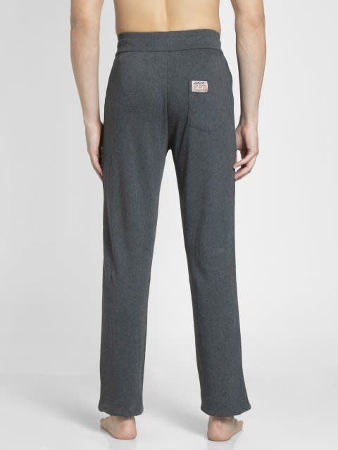 Charcoal Melange Track Pant