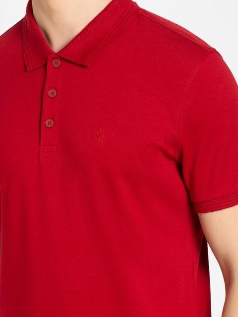Shanghai Red Polo T-Shirt