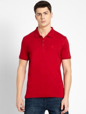 Shanghai Red Polo T-Shirt