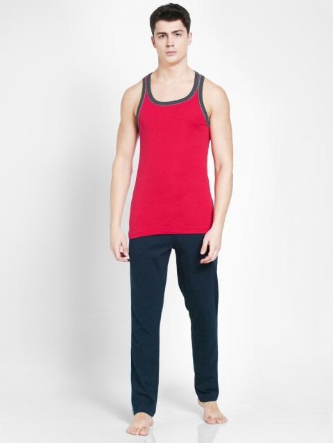 Team Red & Charcoal Melange Fashion Power Vest