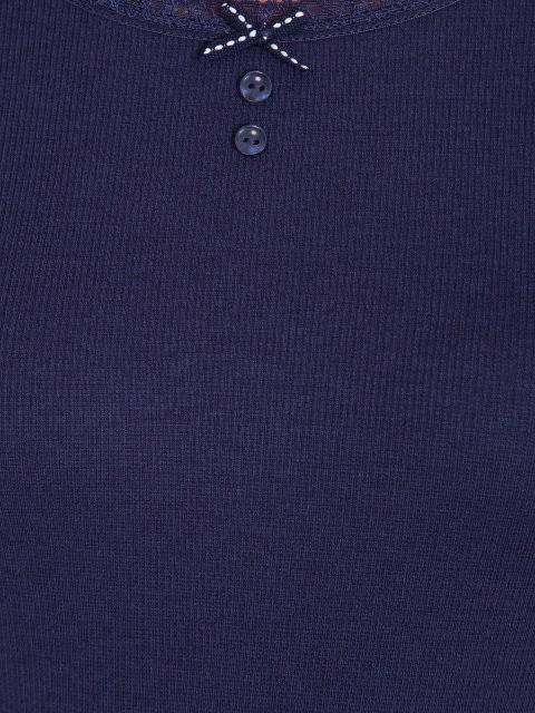 Classic Navy 3/4 Sleeve Top