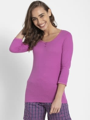 Lavendor Scent 3/4 Sleeve Top